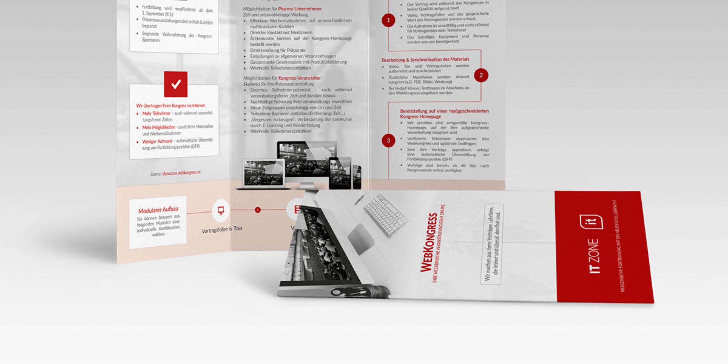 Tri-Fold-FlyerMEDIZIN in Österreich - KonzeptionPrint-Design100% Kundenzufriedenheit