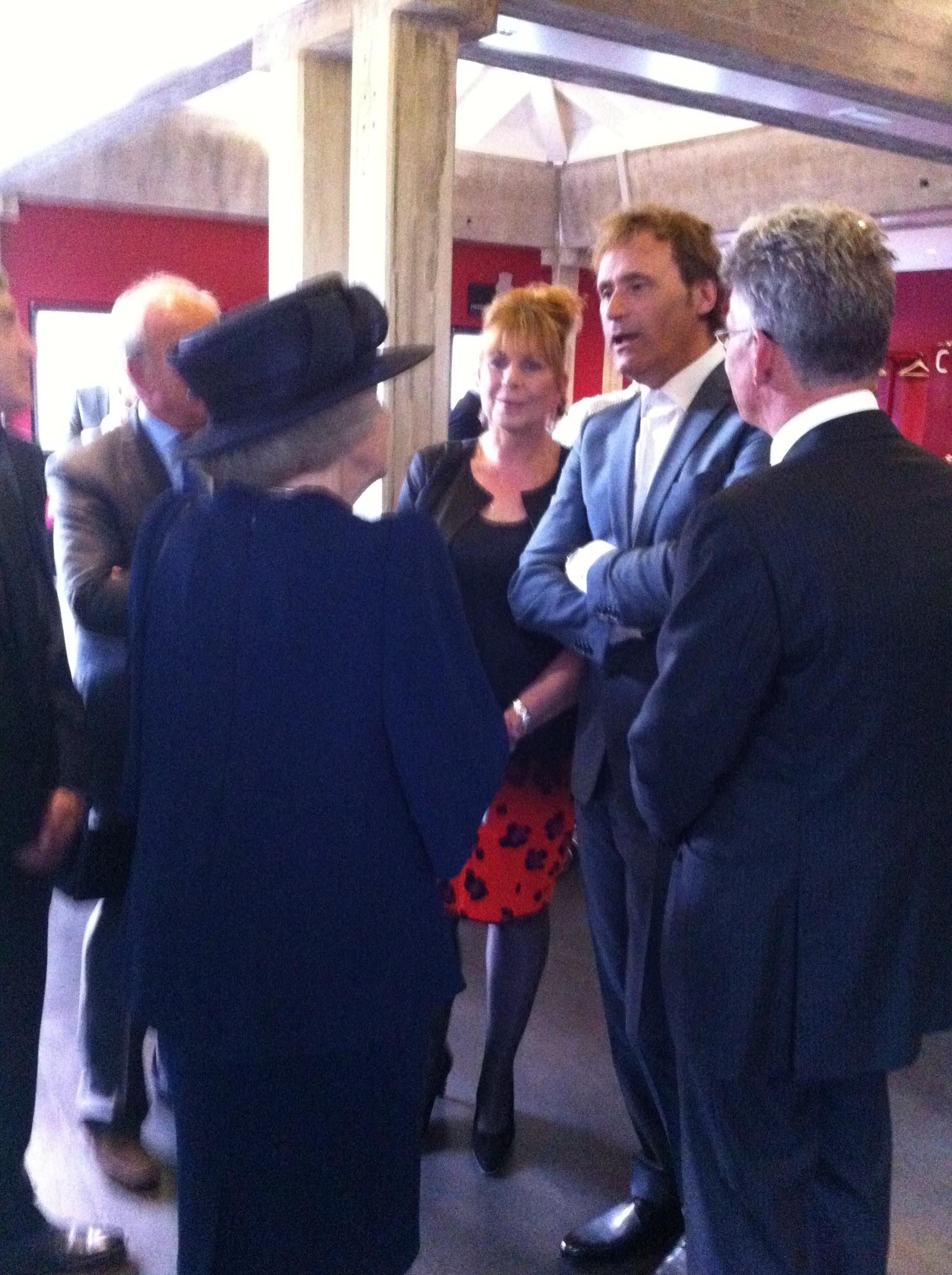 ontmoeting met Prinses Beatrix