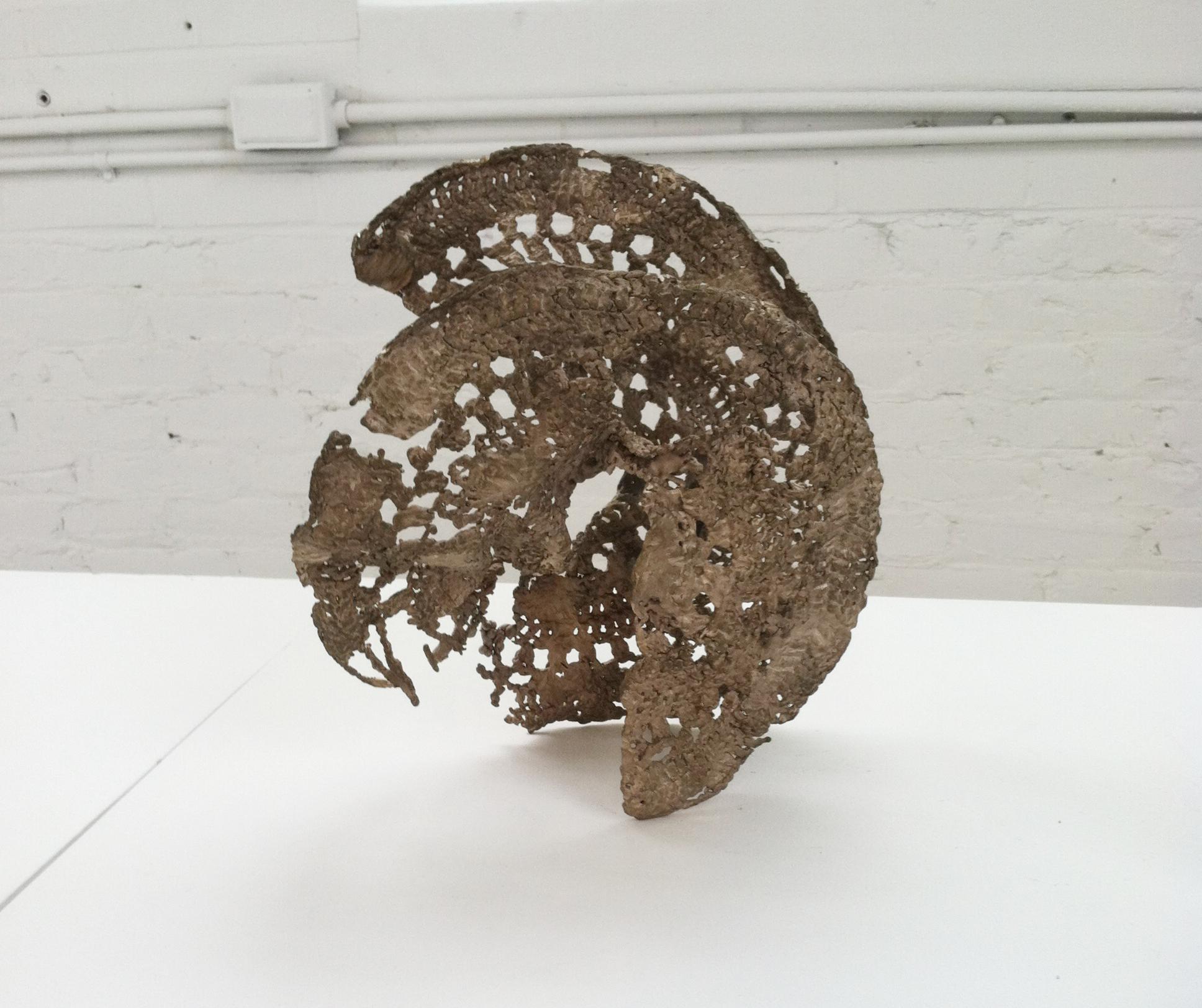 Crocheted Bronze