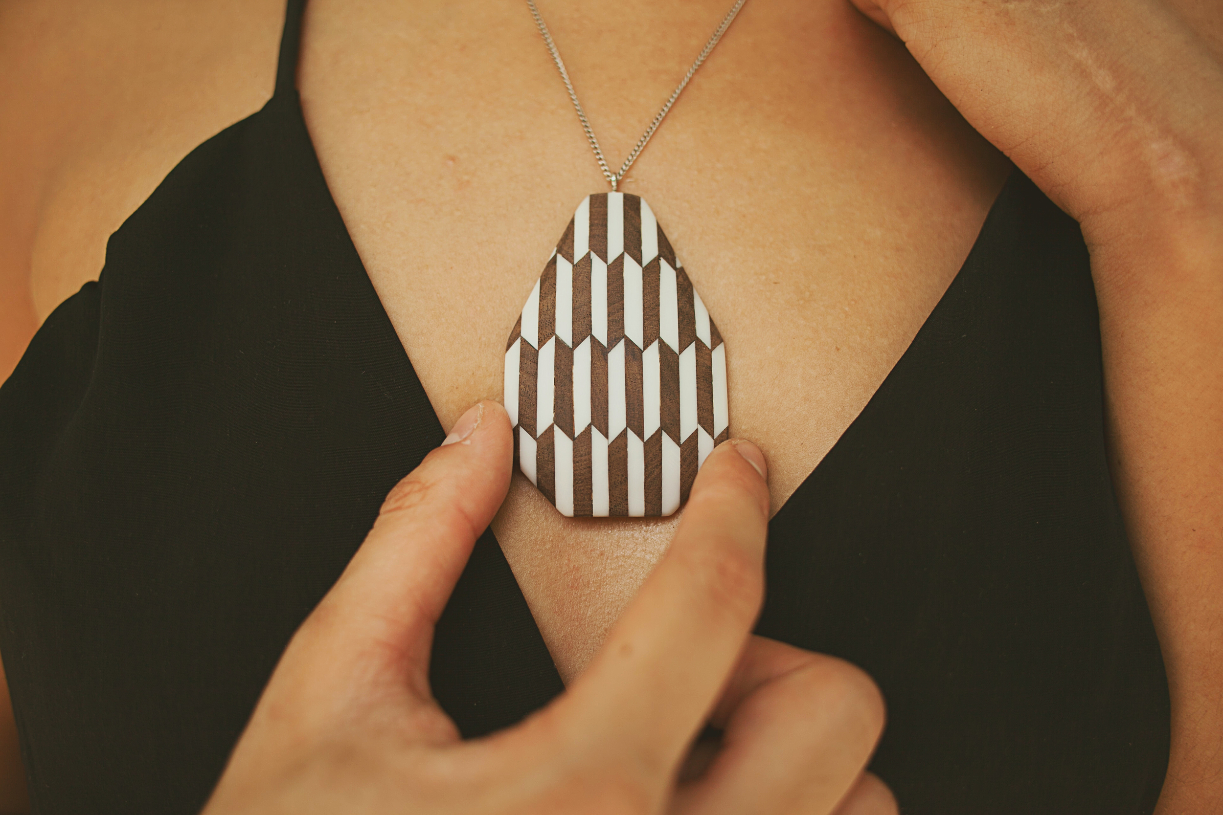 Pattern Block Necklace