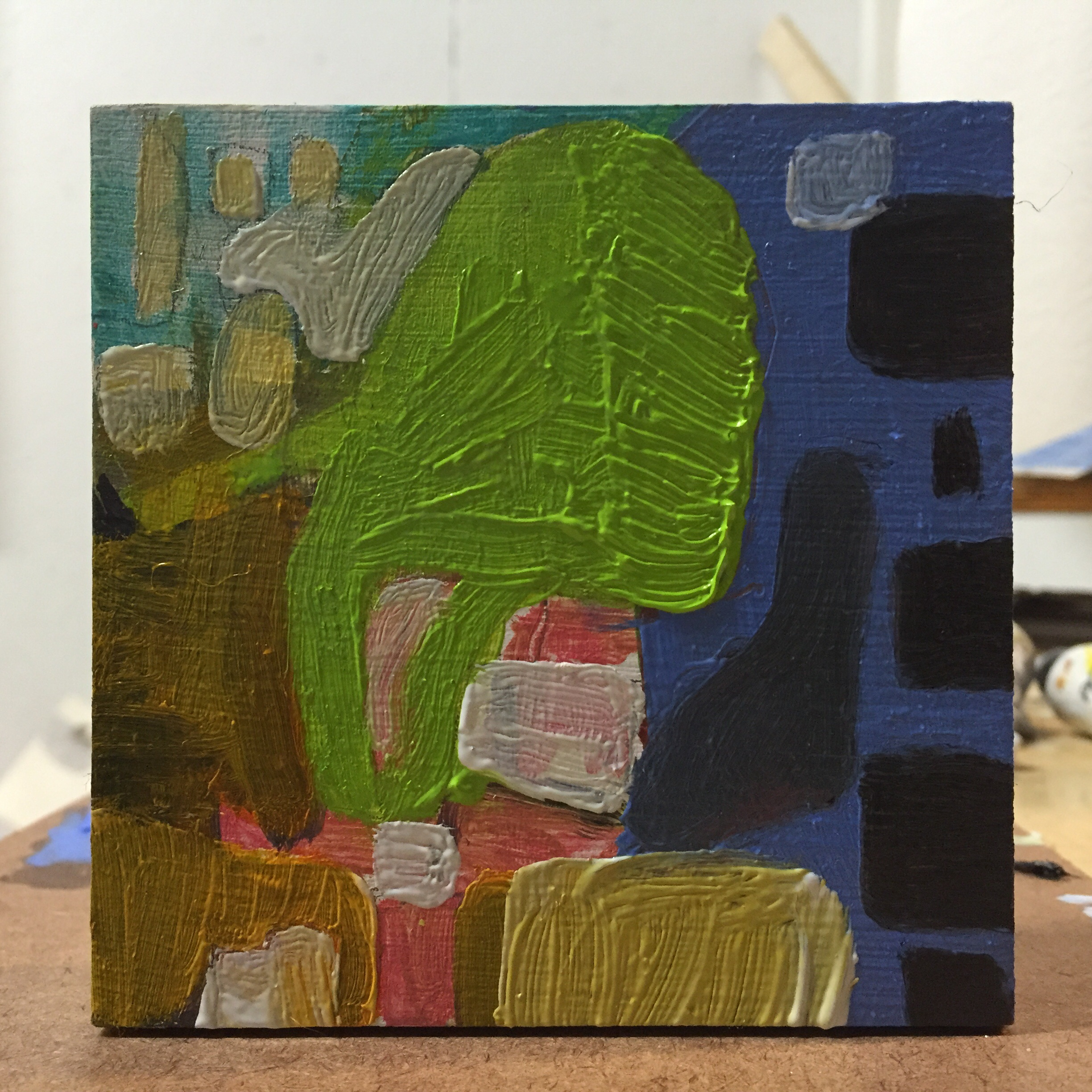 1 of 26 four inch paintings