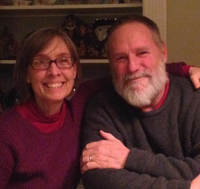 T and Rick at Christmas