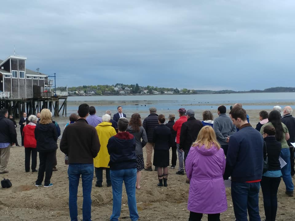 Sunrise Service at Wollaston Beach, Quincy