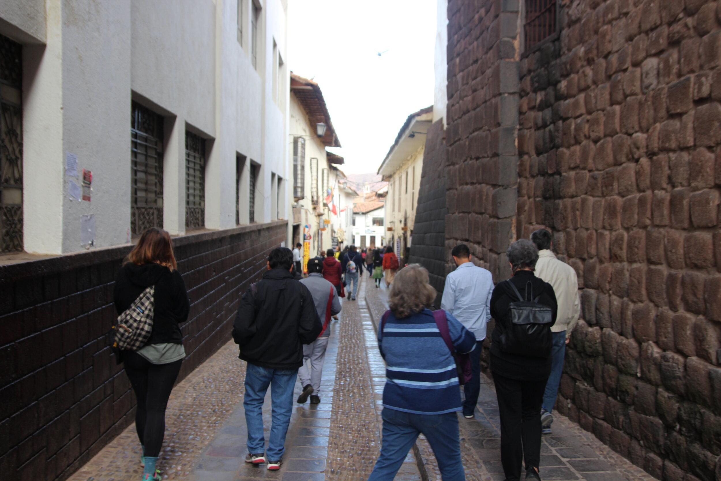 Exploring the Historic Center of Cusco