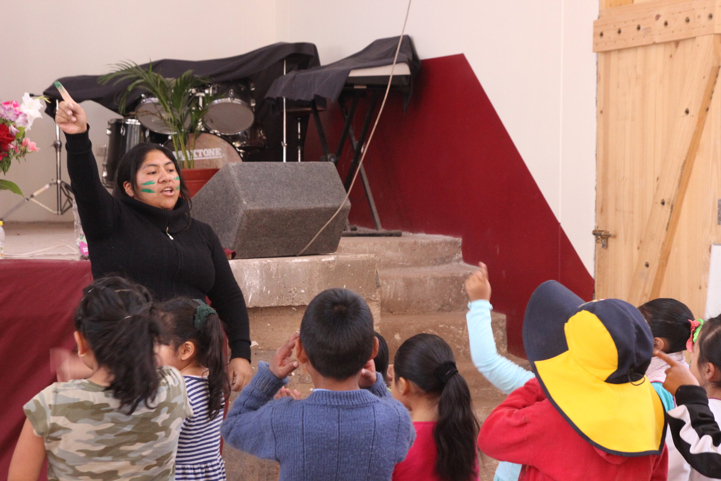 Vacation Bible School at La Iglesias Presbyteriana Jesus El Buen Pastor (Jesus the Good Shepherd Presbyterian Church)