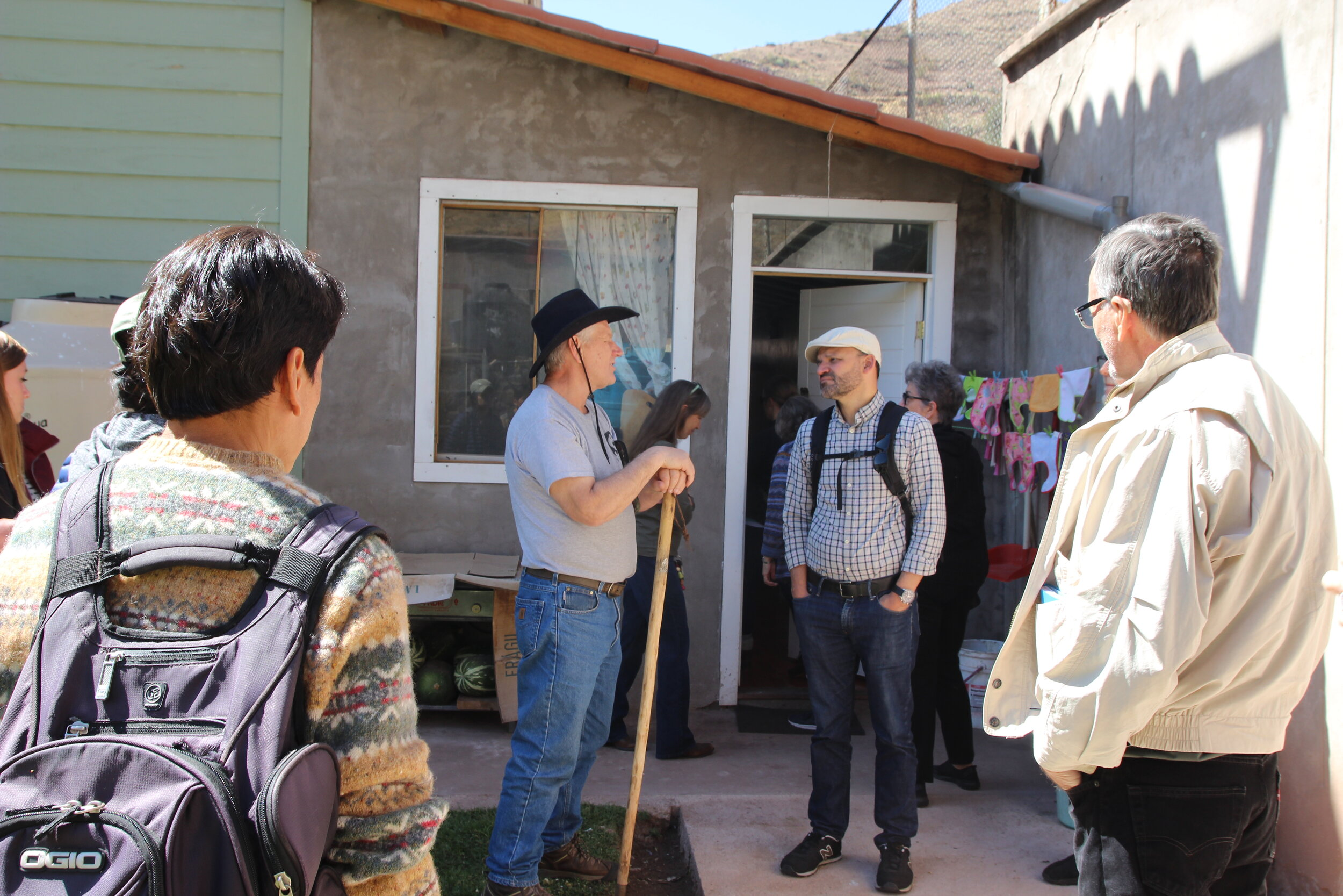 Talking with one of the missionaries about the ministry of Casa Josefina, an orphanage for infants and toddlers in Cusco.