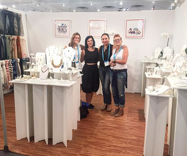 Come meet our team @ny_now Booth #8721 and check out all the latest designs! #nynow2016 #pazcollective #jewlery #scarves #handmade #artisan #sterlingsilver #gifts