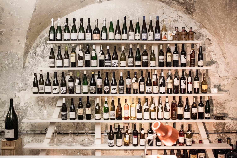 Bokovka wine bar in Prague