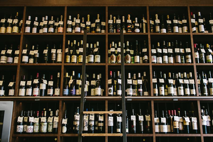 Vinograf wine bar in Prague