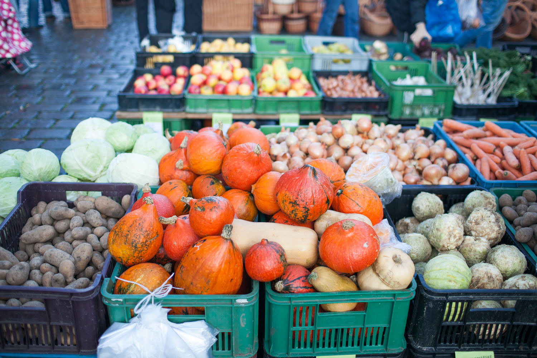 Farmers market Prague