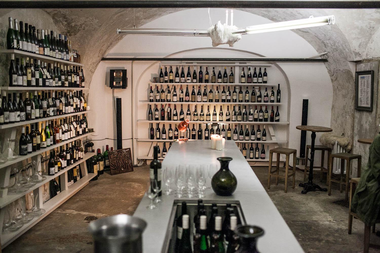 Bokovka wine bar Prague