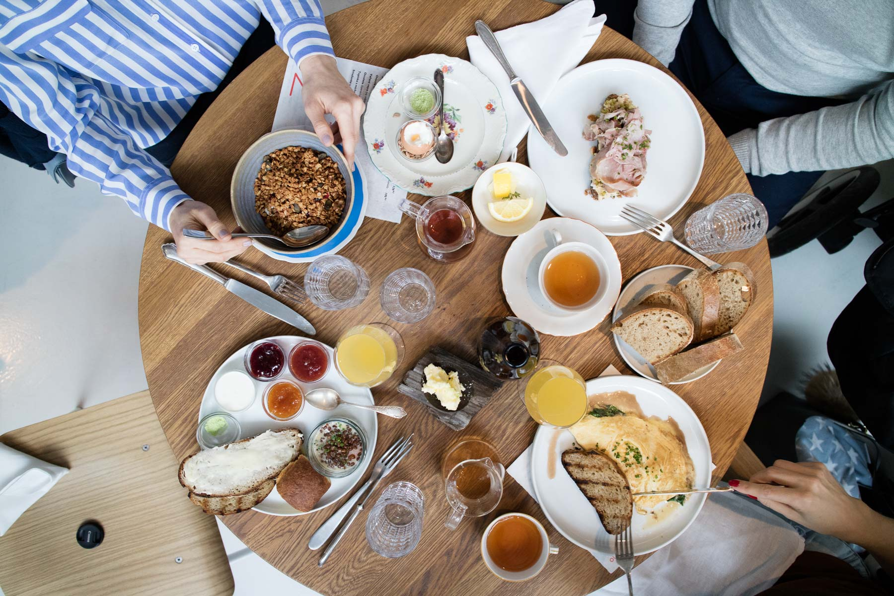 Breakfast at Eska, Prague