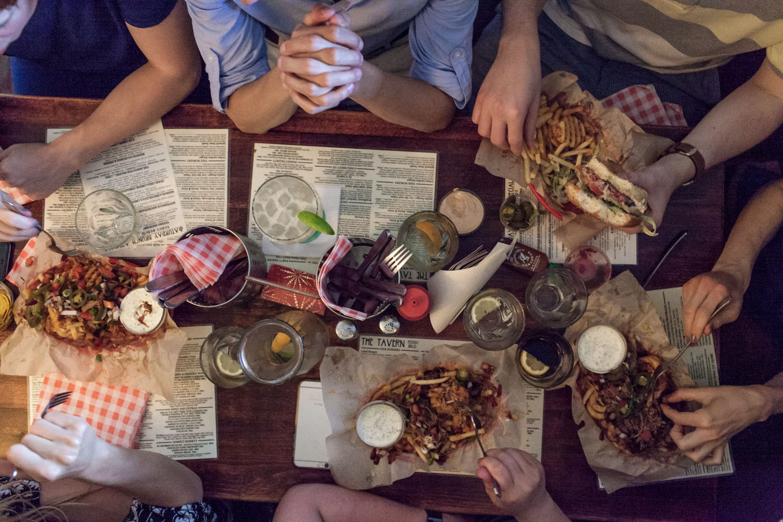 Breakfast at The Tavern, Prague