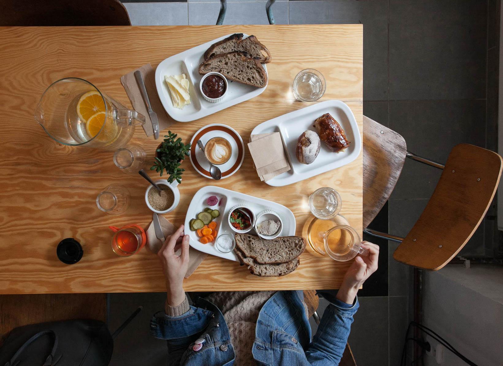 Breakfast at Praktika, Prague