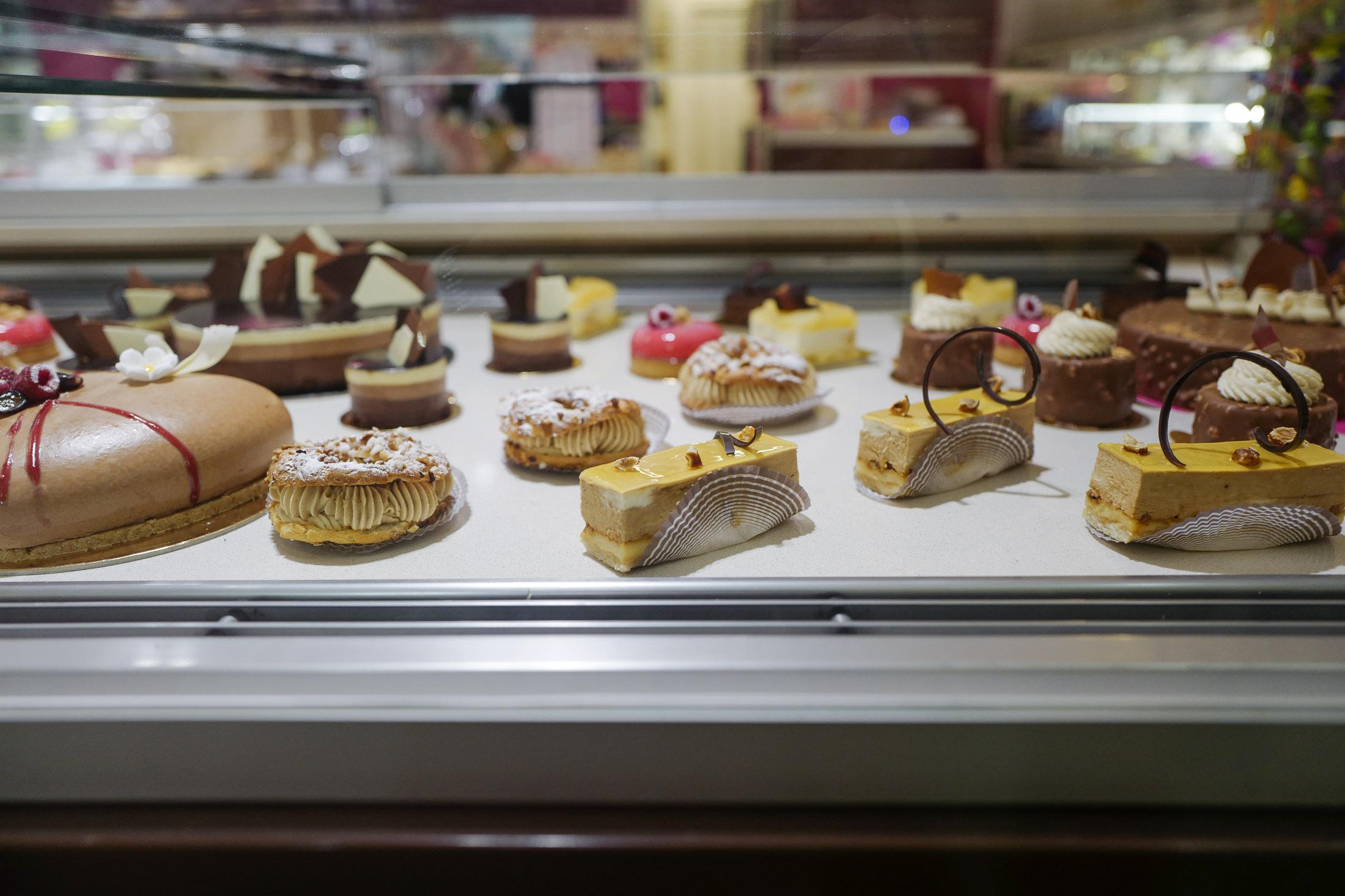 St Tropez - pastries in Prague