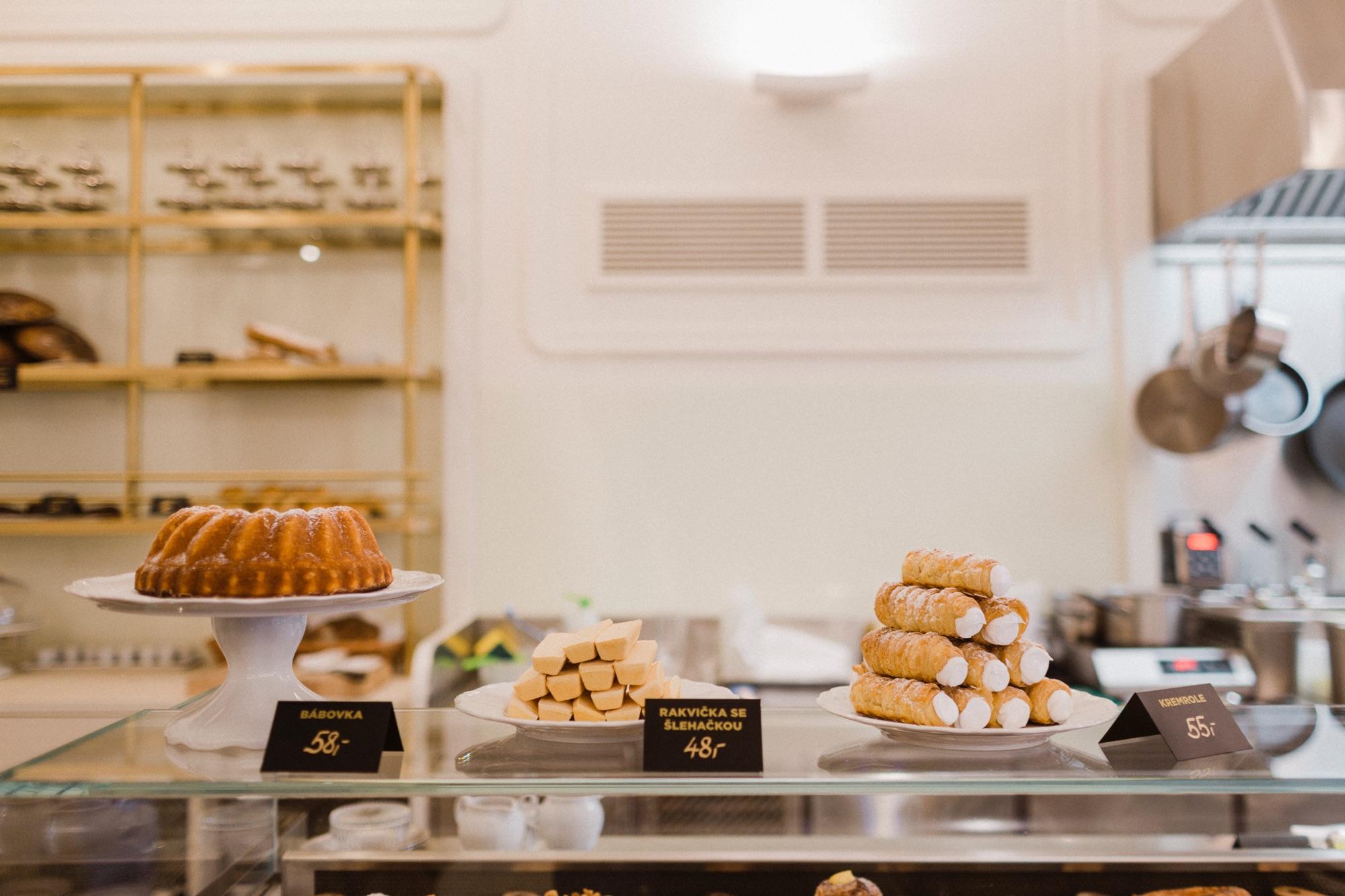 Mysak - pastry shops in Prague