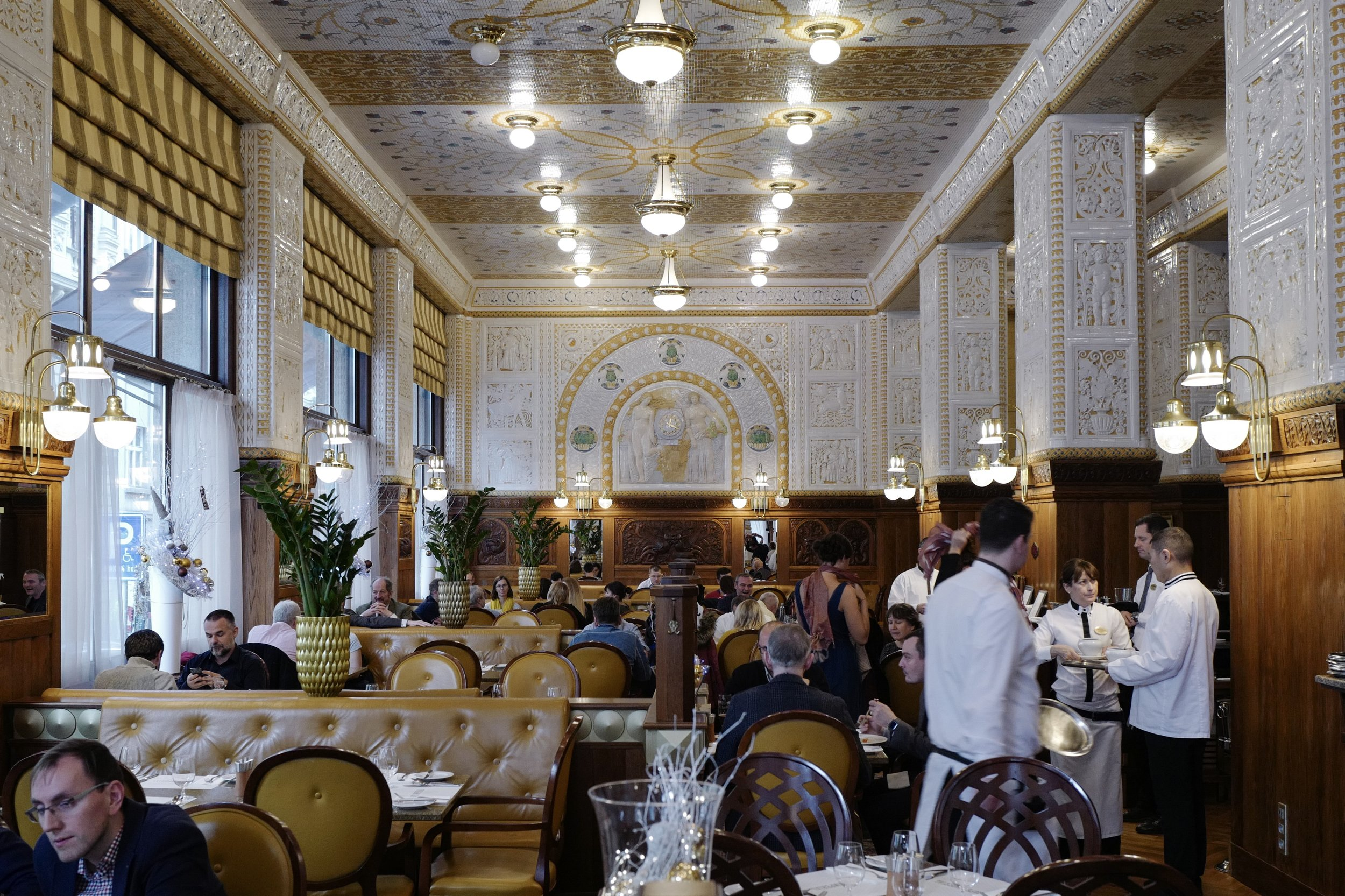 Café Imperial, Prague