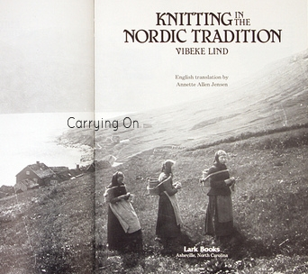 Knitting tradition using color