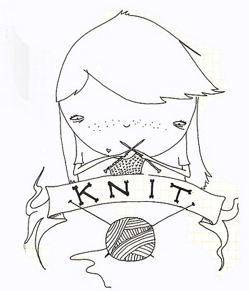 Knitting makes you happy