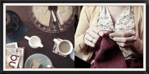 Knitting and treats
