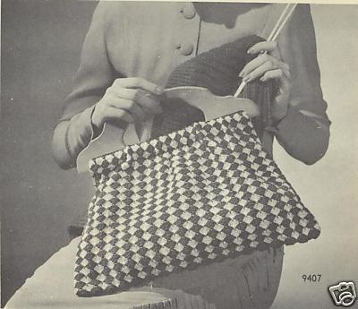 Knitting tool bag
