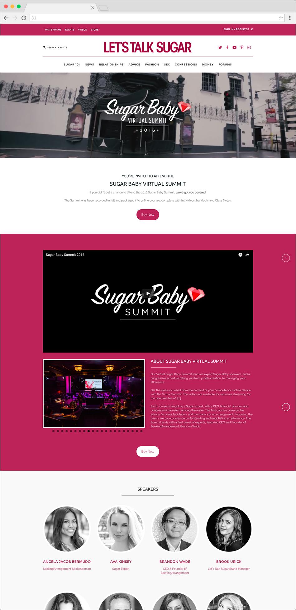 Sugar Baby Virtual Summit
