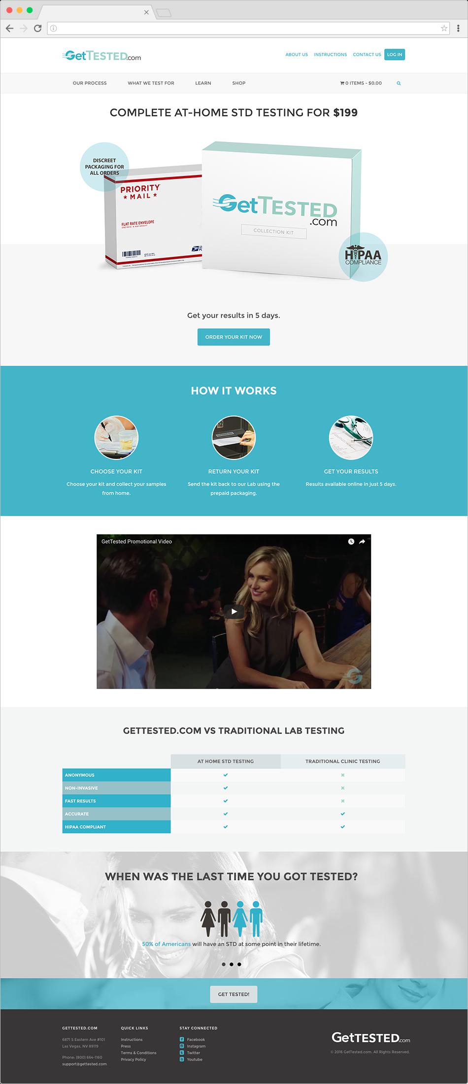 Original Launch Website
