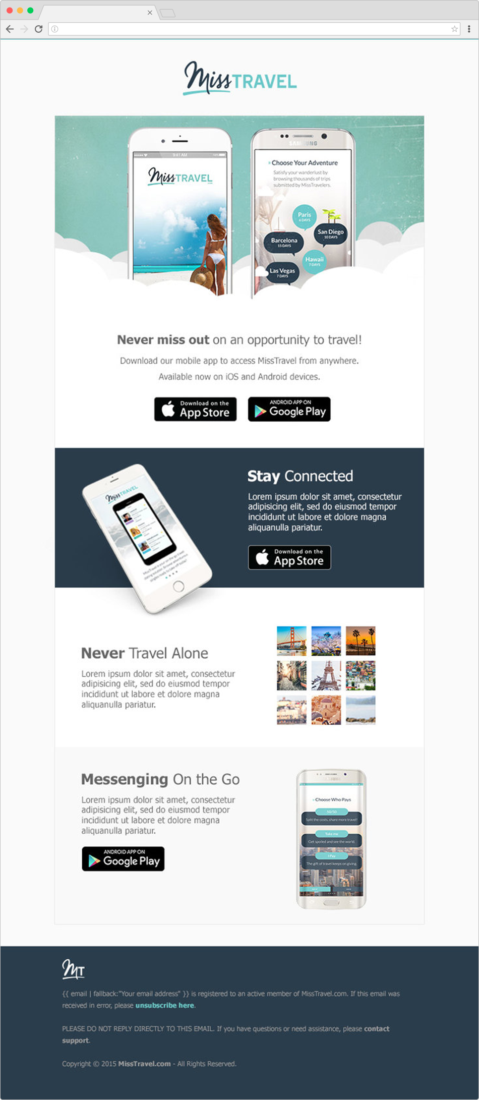 App Launch Email