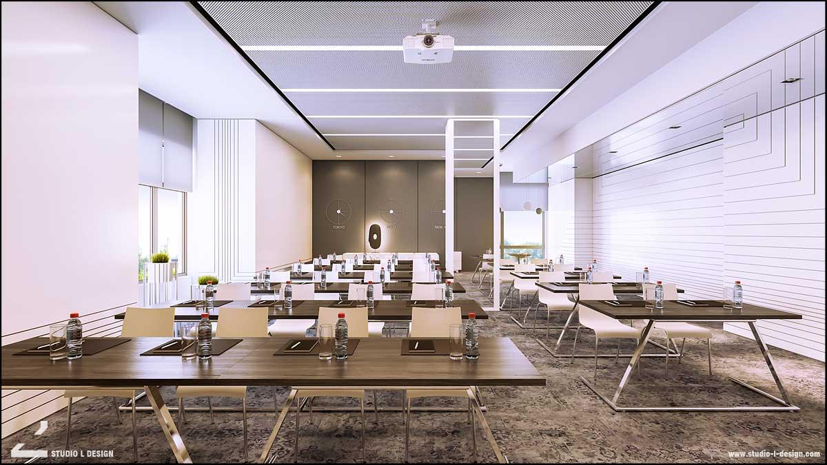 Интериорен дизайн на бизнес център