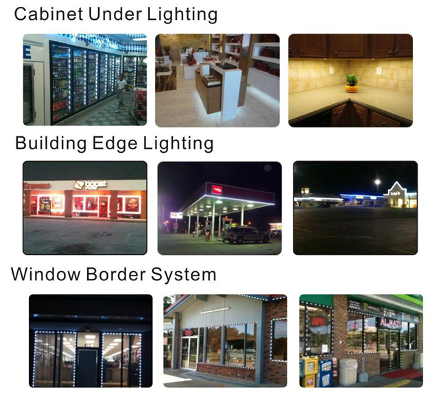 Ask us about the commercial installations to draw more attention to your business !