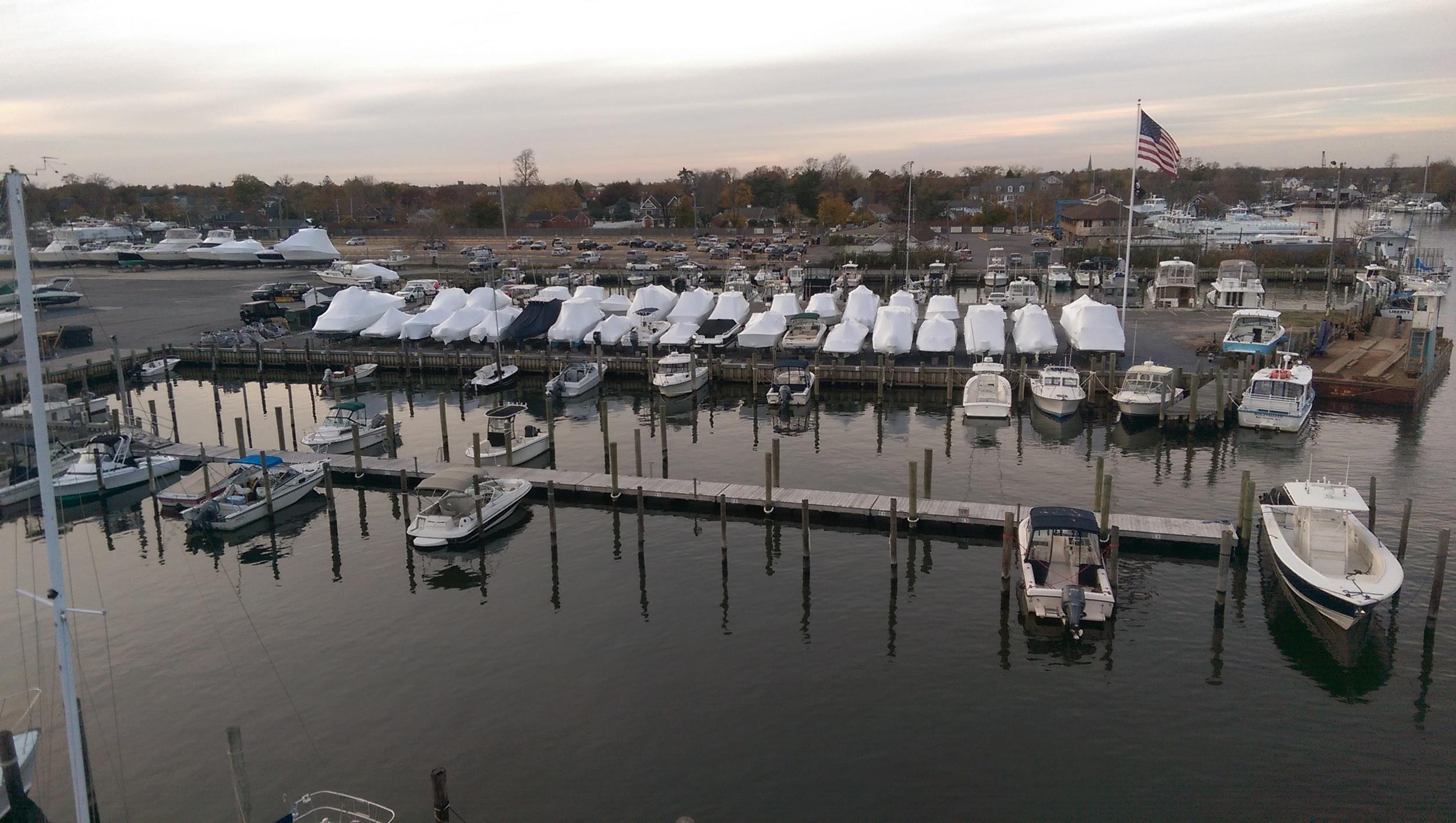 Floating Dock, Near Side .