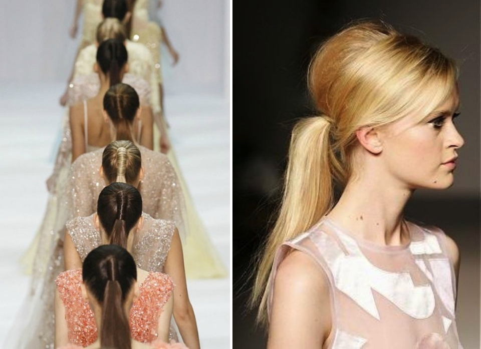 hair ponytail trend