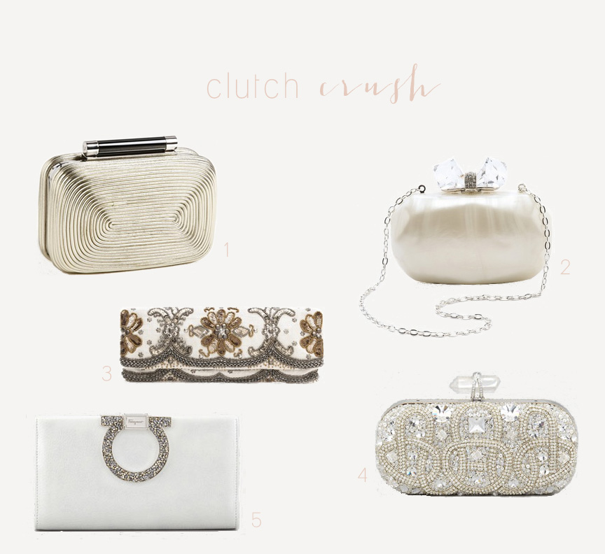 wedding clutches for brides