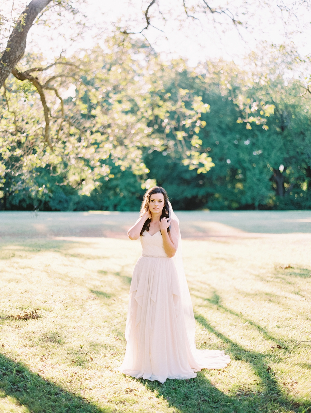 Outdoor Bridal Session with Becca Lea Photography