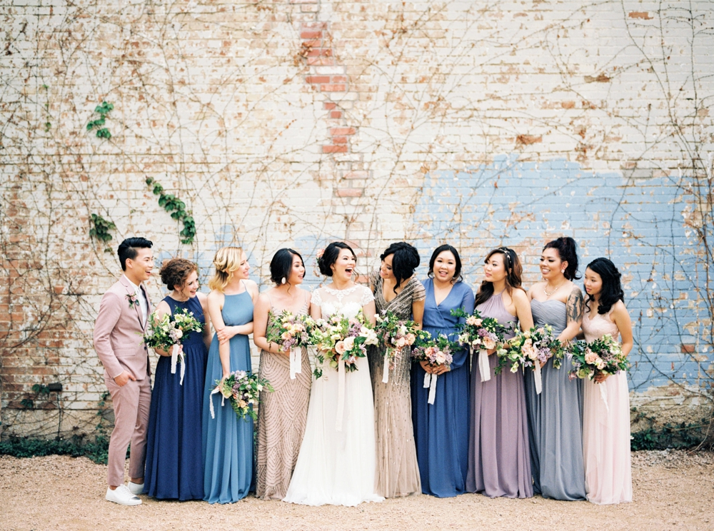 Brik Venue Wedding with Feather and Twine Photography