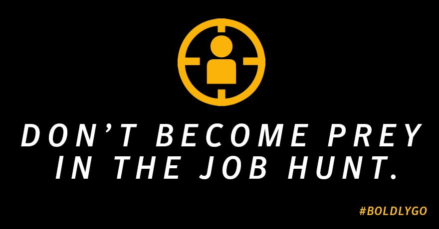 Job hunt security