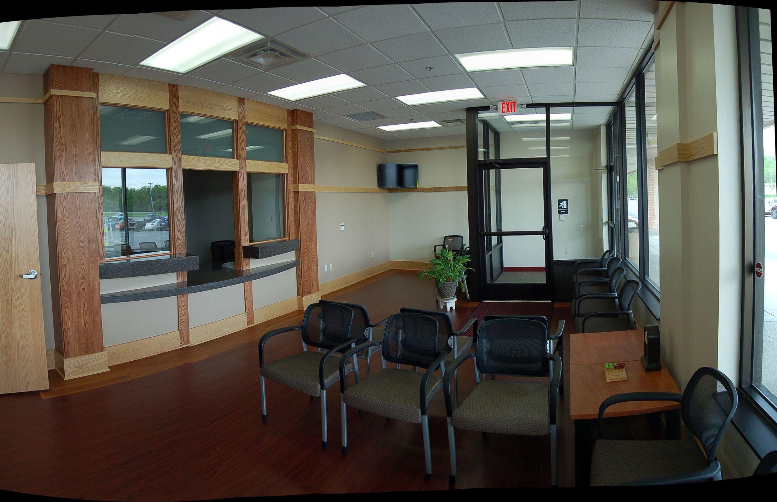 Physical Rehabilitation Facility, Ellwood City, PA (waiting area)