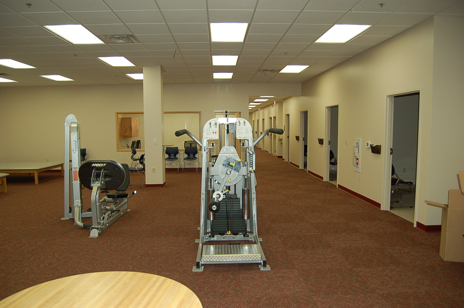 Physical Rehabilitation Facility, Ellwood City, PA (equipment and exam offices)