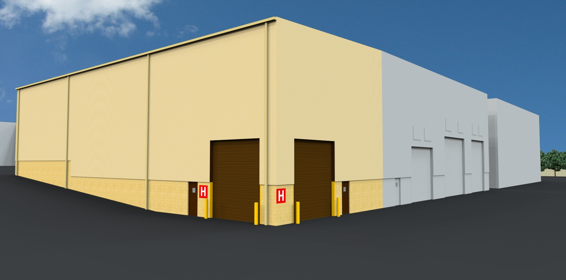 Ellwood City Forge Rendering
