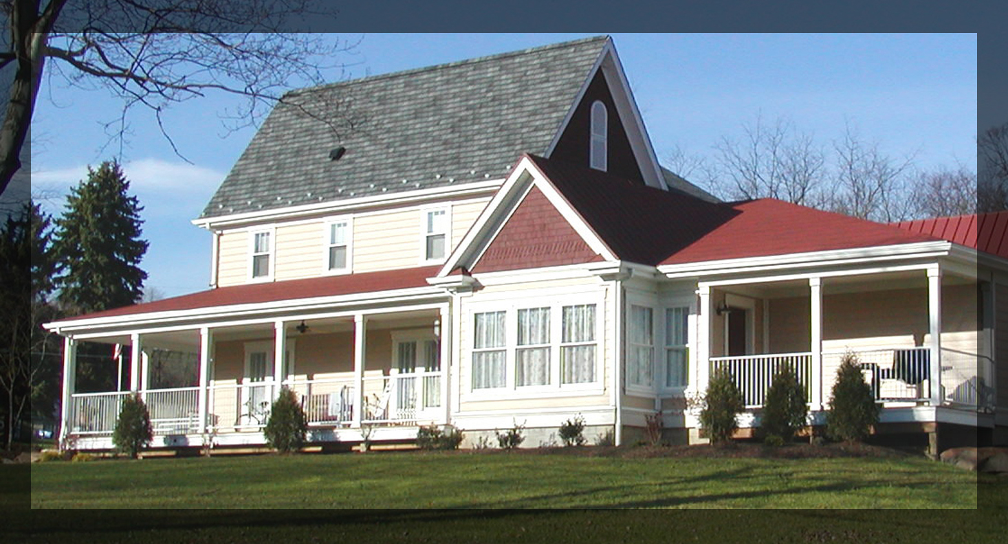 Chapel Valley Estate, Ellwood City, PA, rear (AFTER)