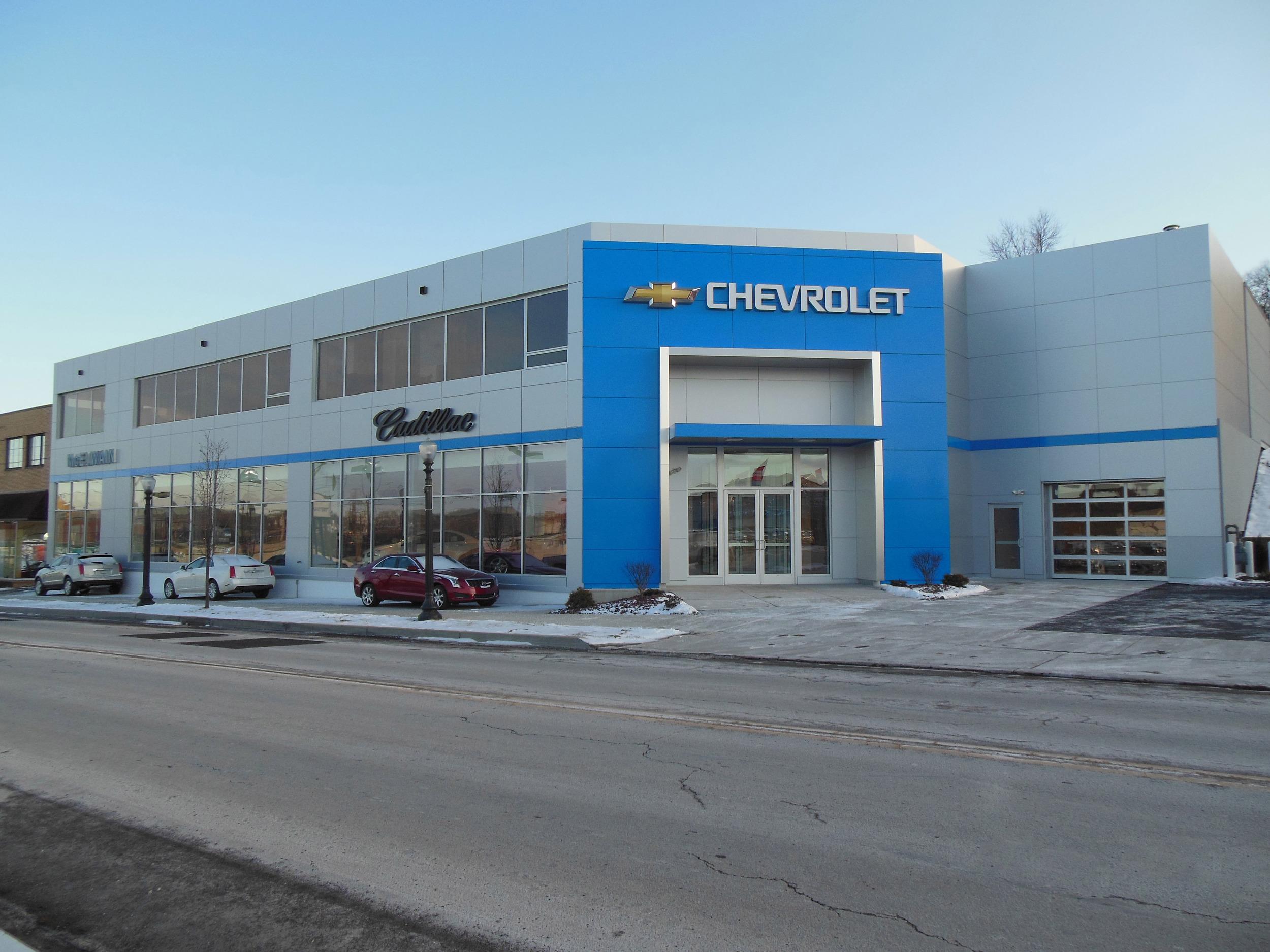 McElwain Chevrolet & Cadillac, Ellwood City, PA
