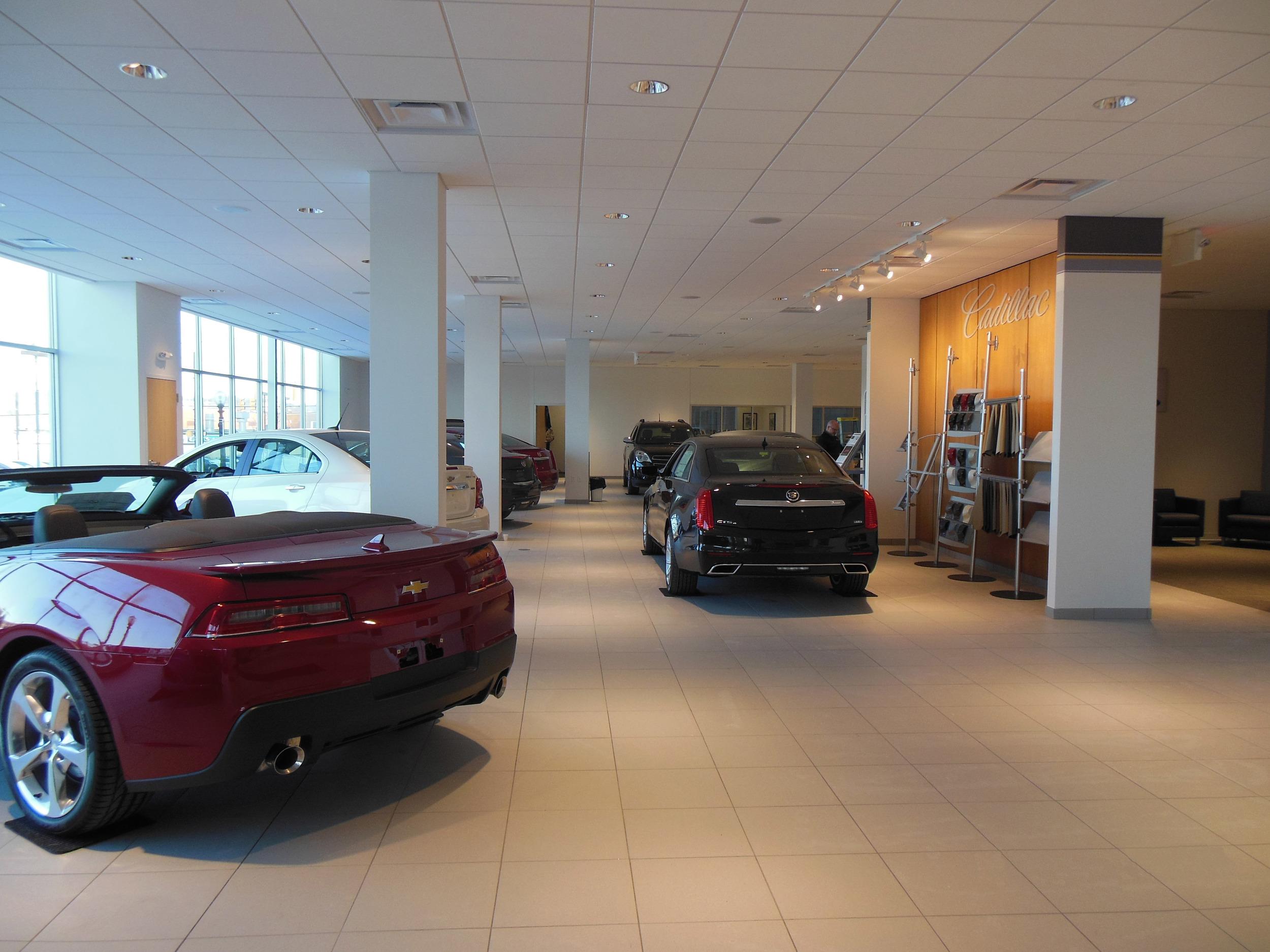 McElwain Chevrolet & Cadillac, Ellwood City, PA (interior)