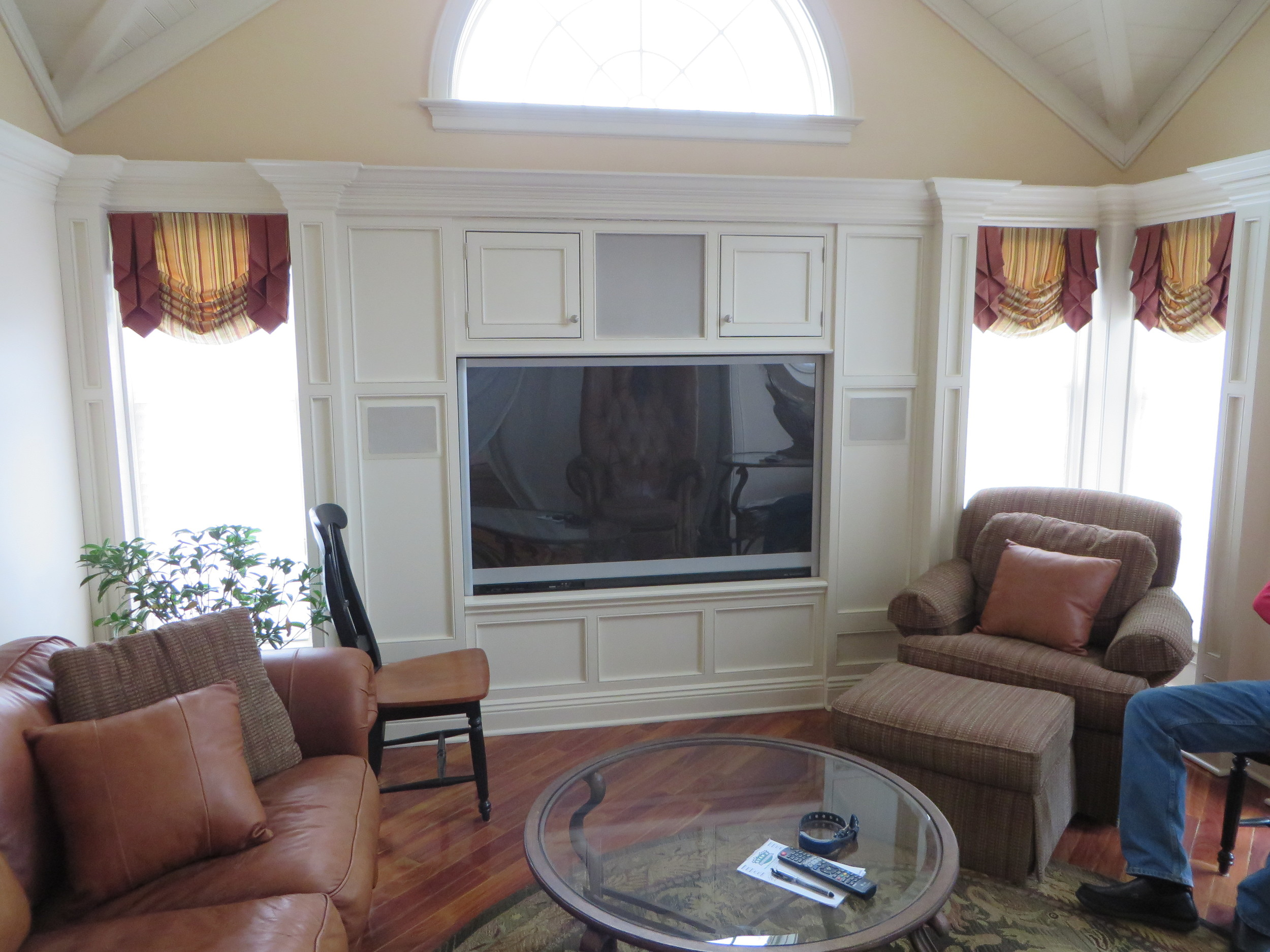 Private Residence Family Room