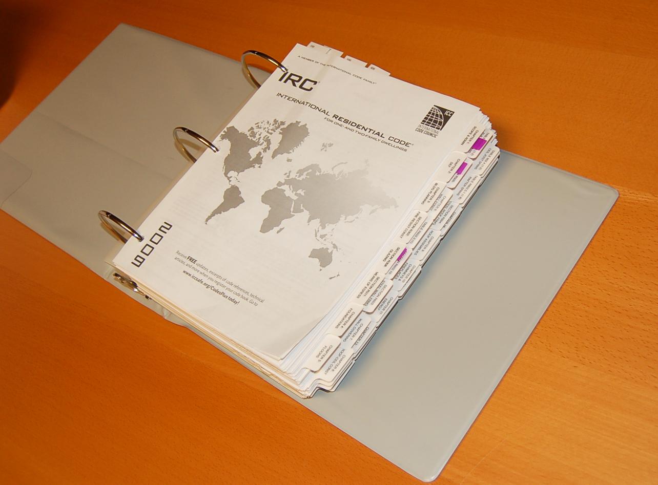 International Residential Code Book