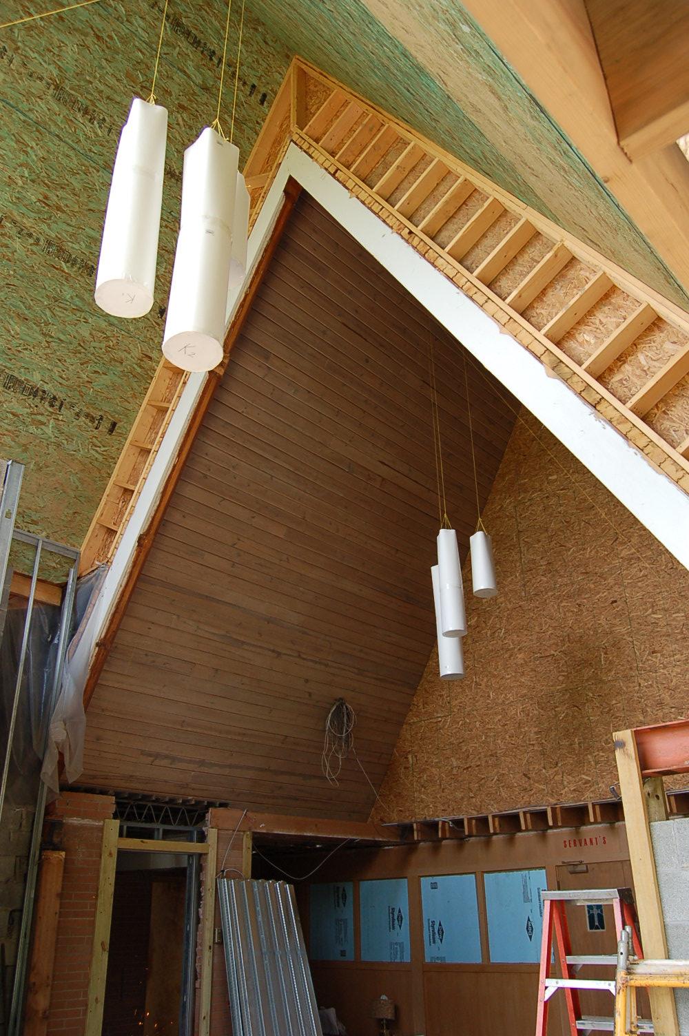 North Sewickley Presbyterian Church Narthex Inside Lights 061515