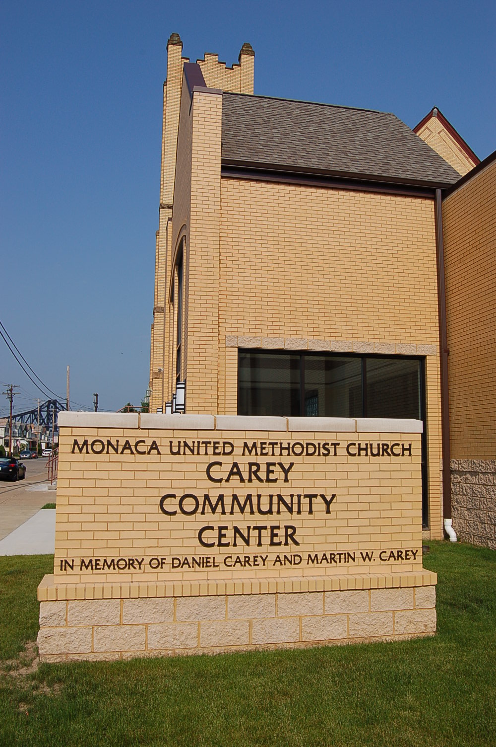 The Carey Community Center addition at the Monaca United Methodist Church