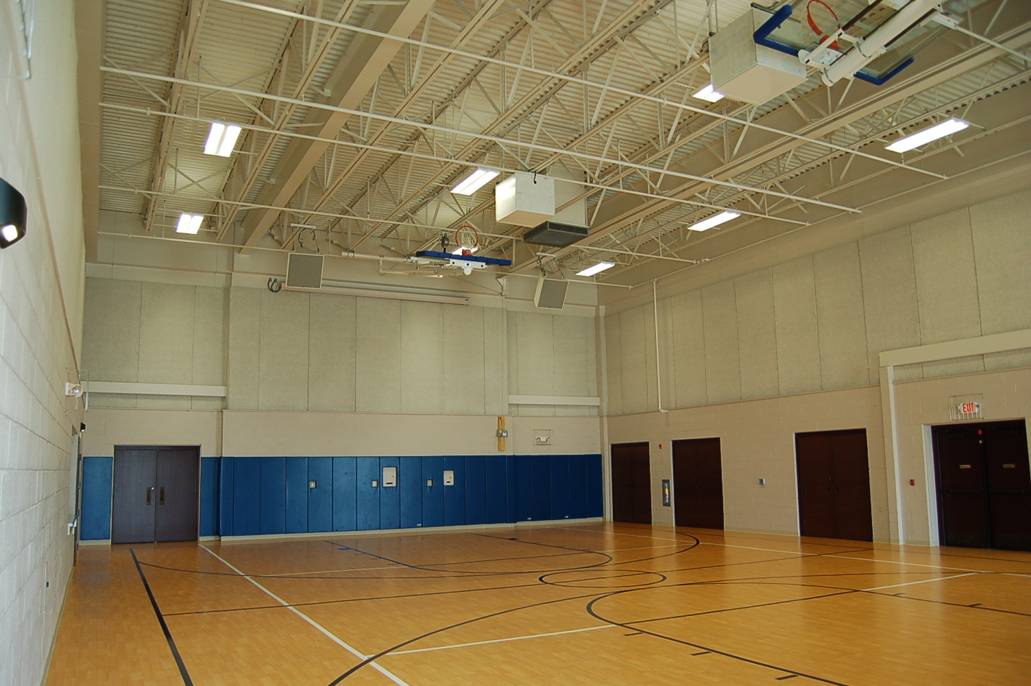 Multi-purpose room within Carey Community Center