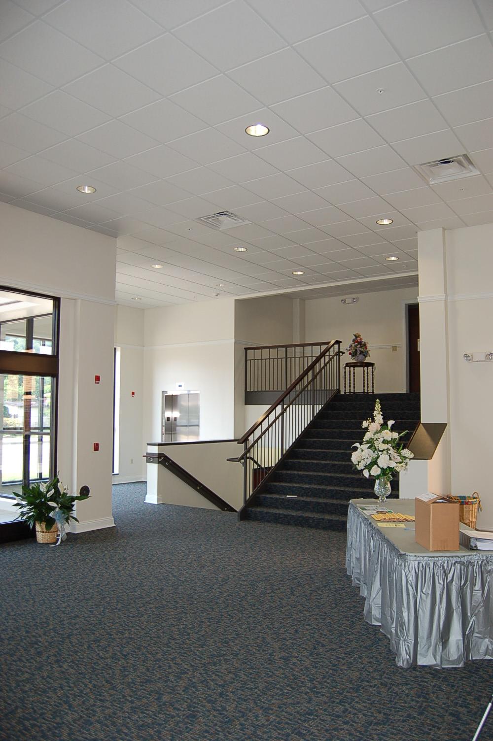 Carey Community Center Entrance