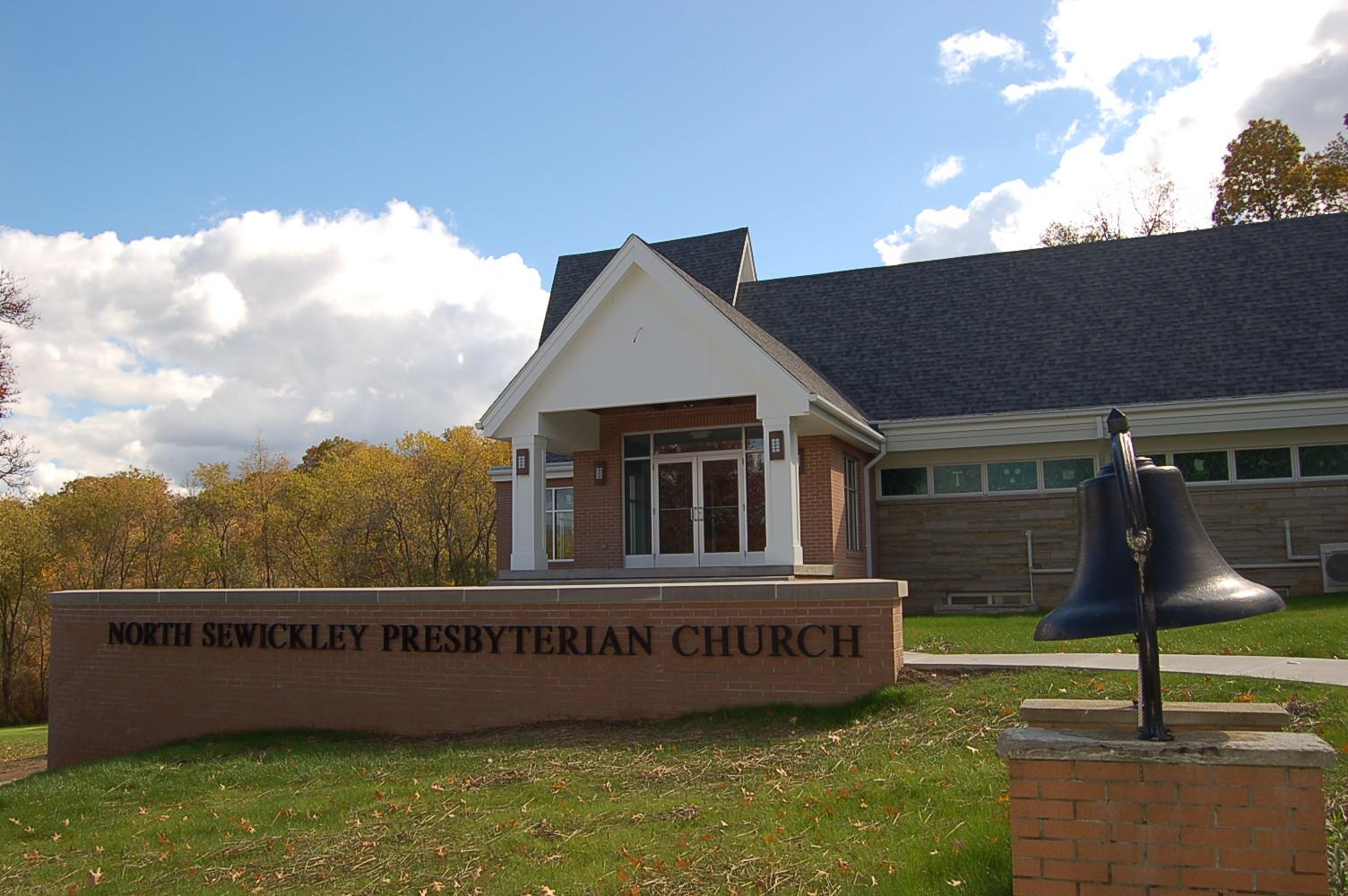 Exterior of North Sewickley Presbyterian Church