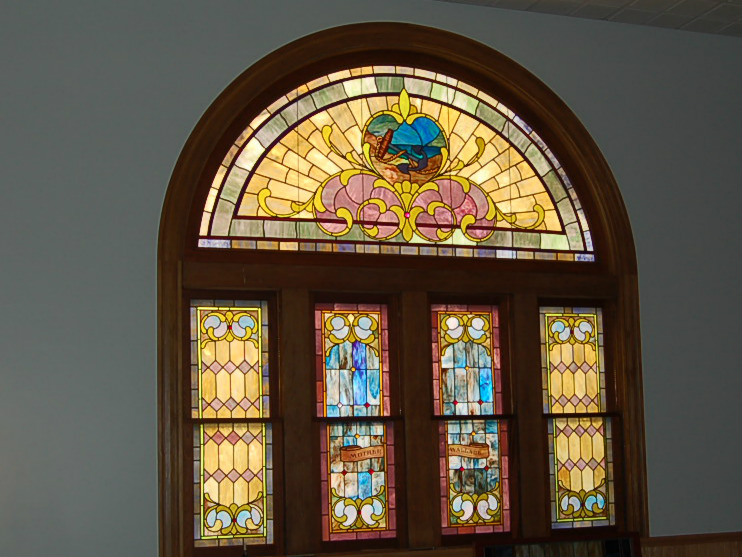 Stained Glass Window at Park United Presbyterian Church